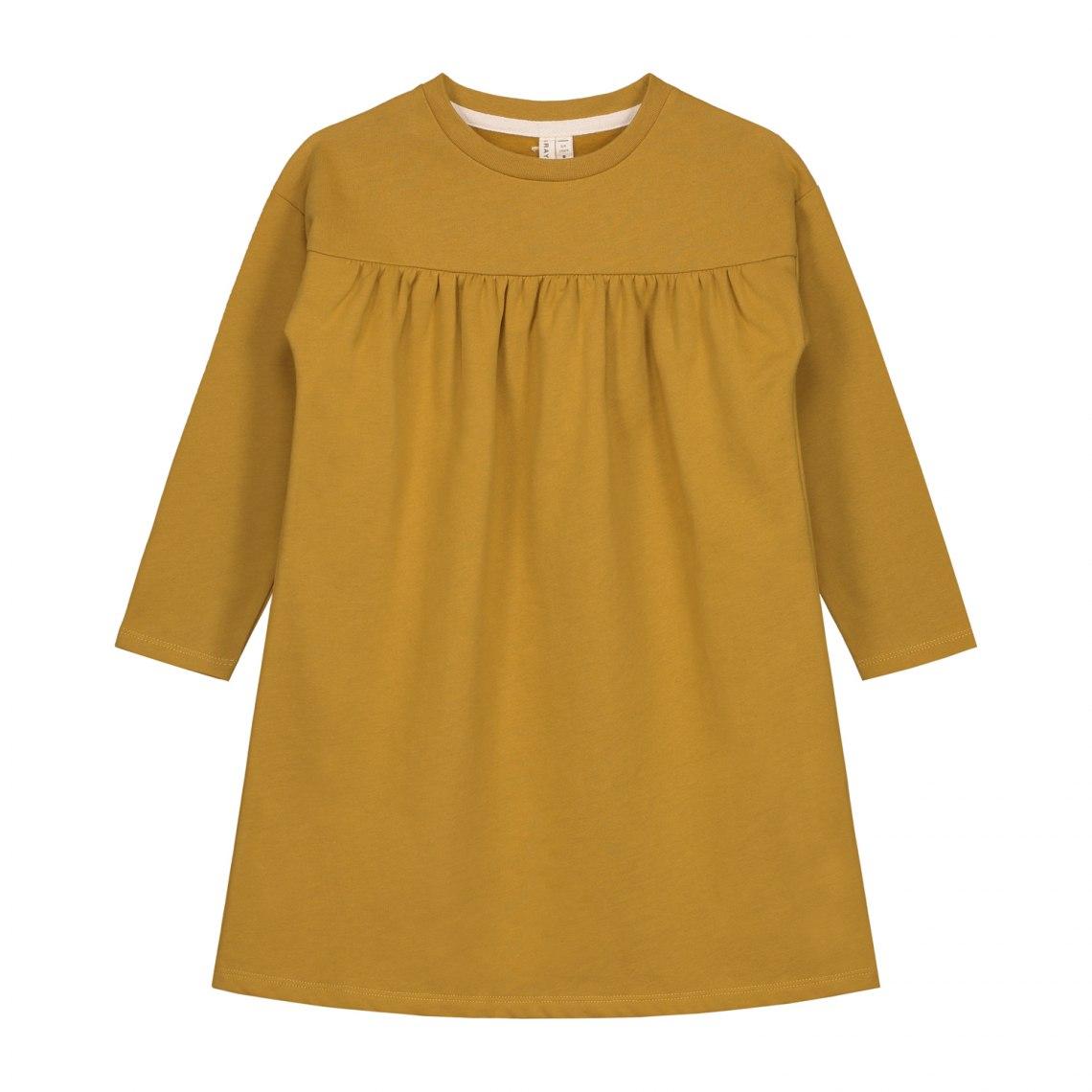 d93b25313090 + × graylabel pleated dress mustard front  1 .jpg